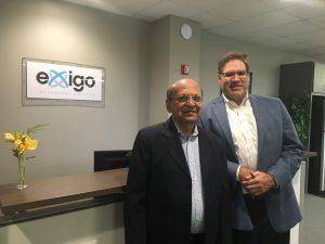 Exigo CEO and Rishabh Software CEO